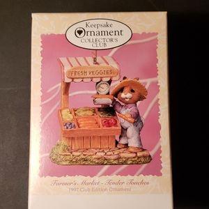 Hallmark Ornament Farmer's Market-Tender Touches